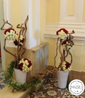 Decorazione floreale all'interno