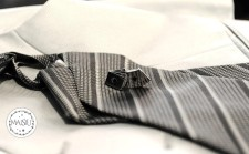 Gemelli e cravatta sposo