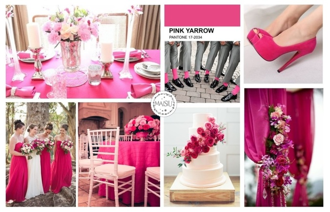 PANTONE PINK ARROW INSPIRATION BOARD