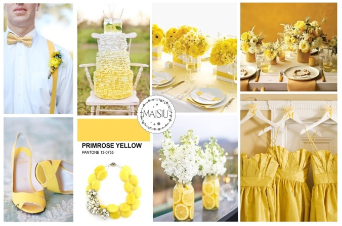 PRIMROSE YELLOW INSPIRATION BOARD